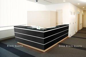 DBI_Corian_BlackQuartz_DeepBlackQuartz_Front_Desk