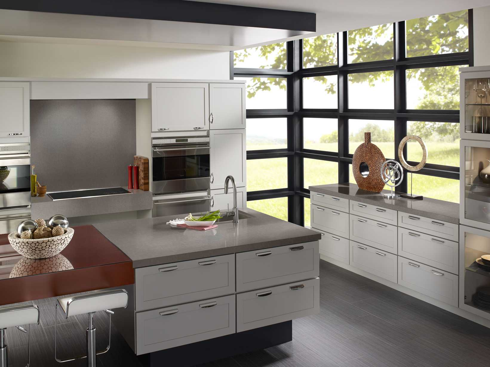 Forest Green Kitchen Cabinets