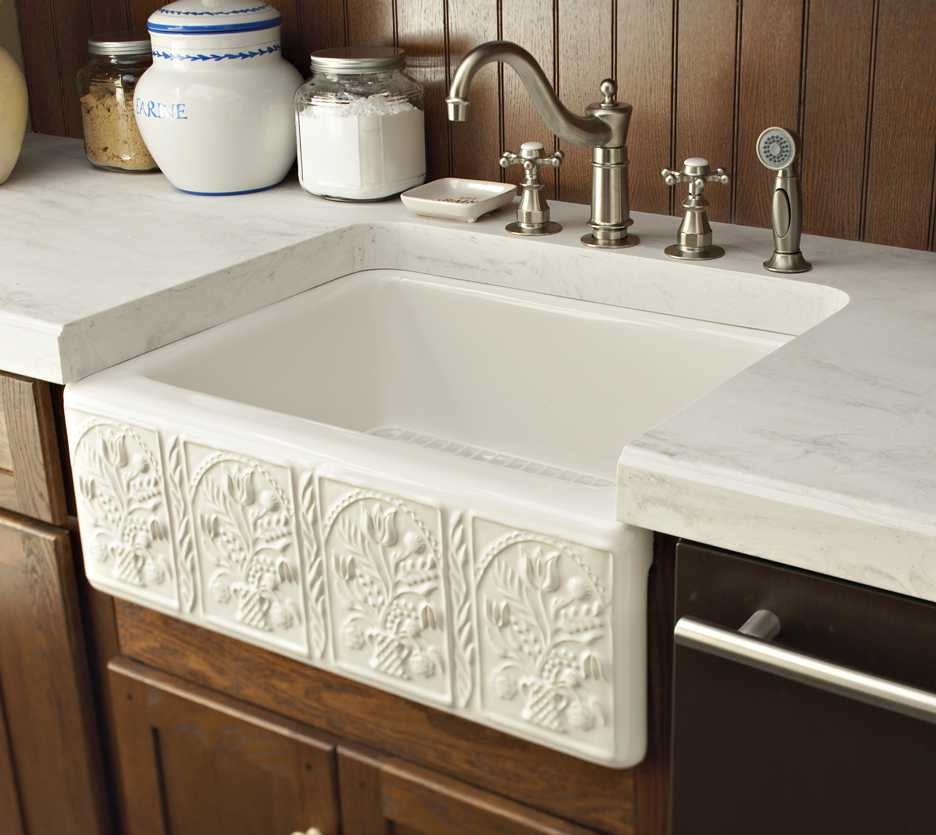 Rain Cloud custom farm sink