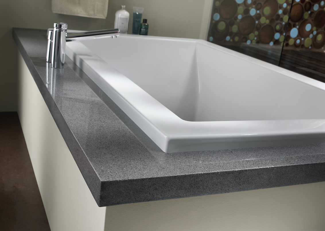 Storm Grey tub surround