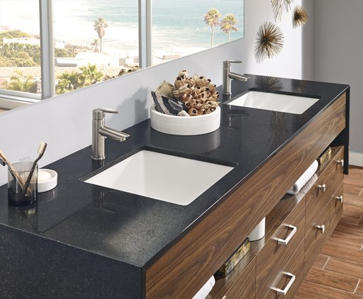 Merveilleux Hygienic U2013 Unlike Tile, Wood Or Unsealed Granite, Corian® Quartz Has No  Pores Or Voids So It Does Not Promote The Growth Of Mold, Mildew Or  Bacteria.