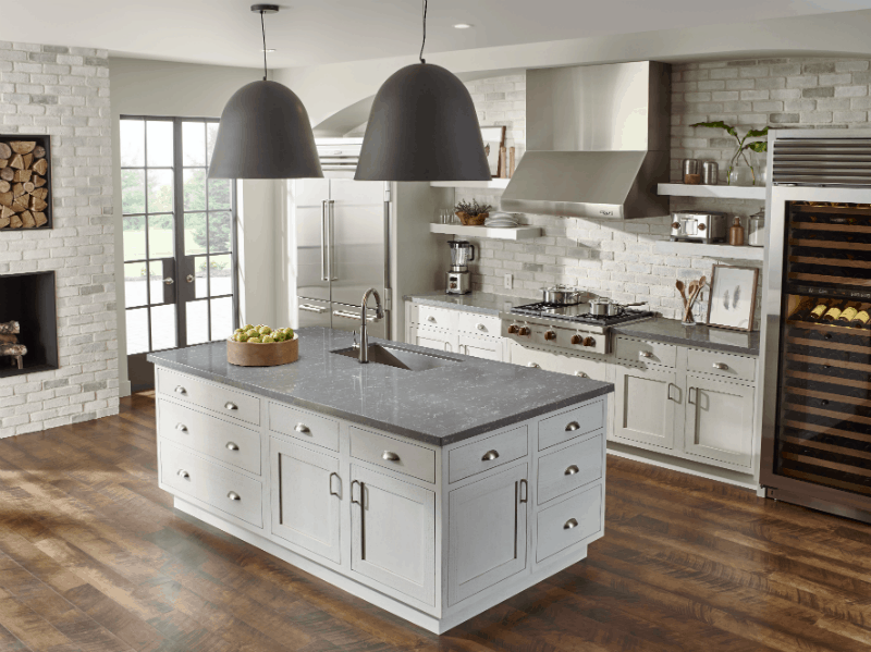 Zodiaq Concrete Carrara Kitchen Oa
