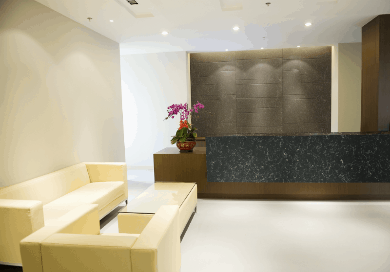 Zodiaq Evergreen Lobby - Desk