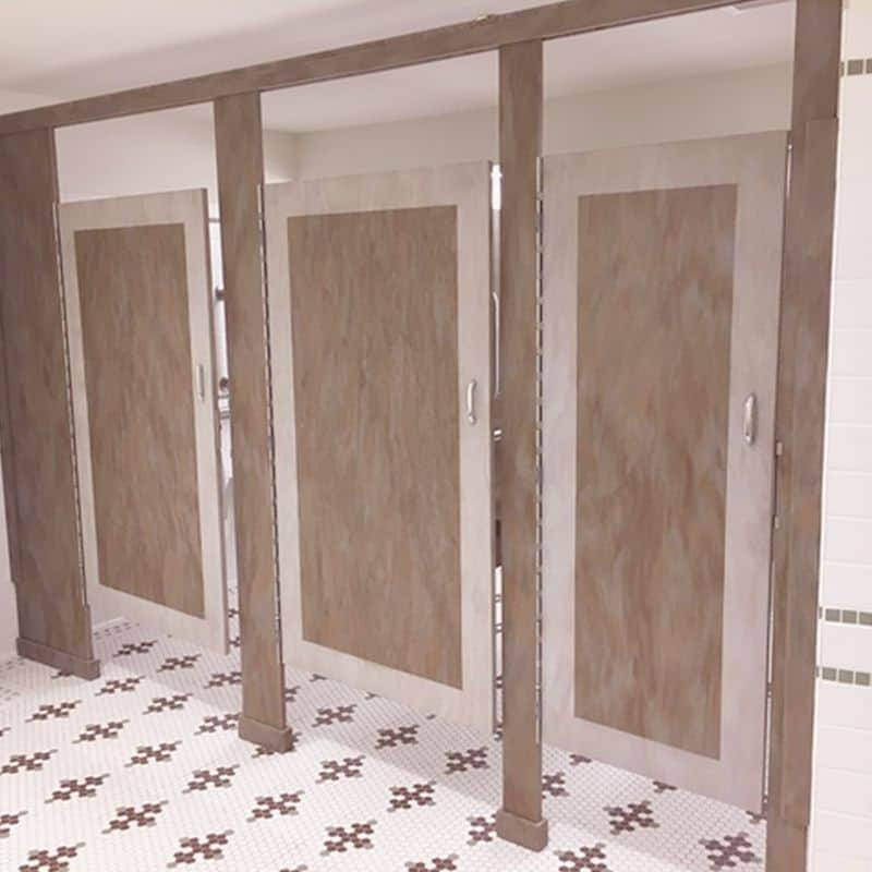 Custom Toilet Partition