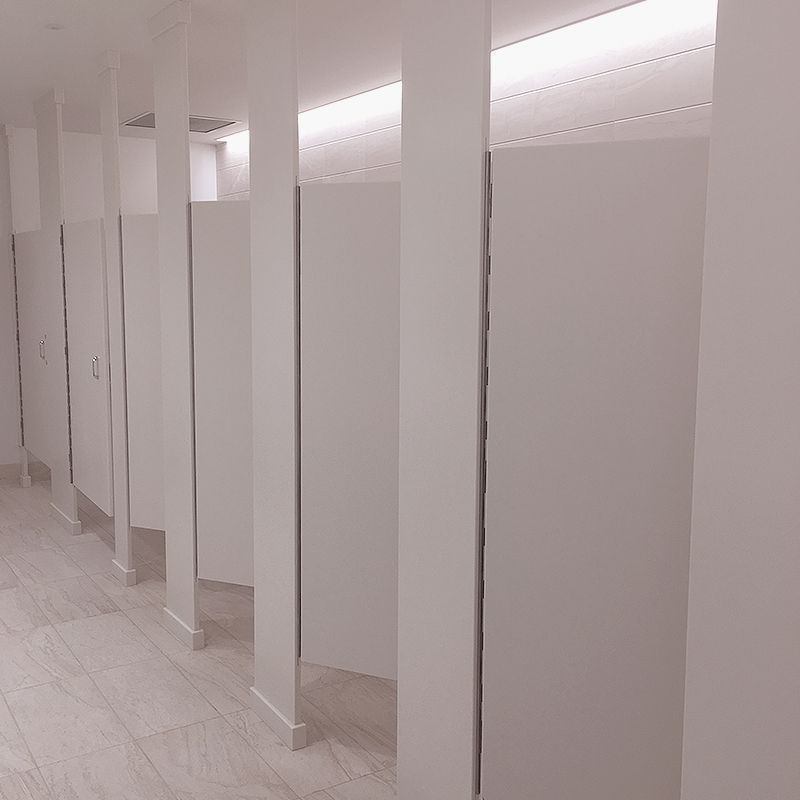 Floor to Ceiling Toilet Partition