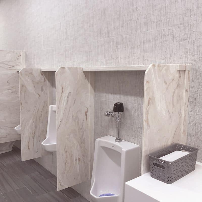 Portfolio Shelf Urinal Screen
